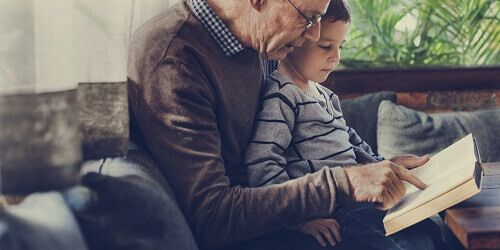 Grandparent with visitation rights